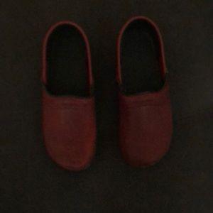 Other - Red Sanita clogs